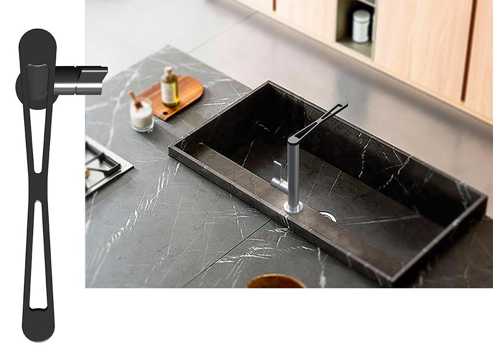 Essential rubinetto di Weber | design Team Webert