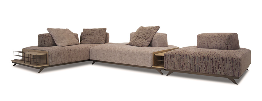 Doimo Salotti - divano in tessuto Newton