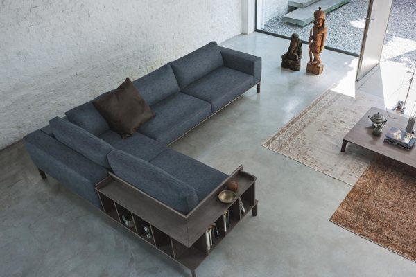 Doimo Salotti - divano in tessuto Leonard