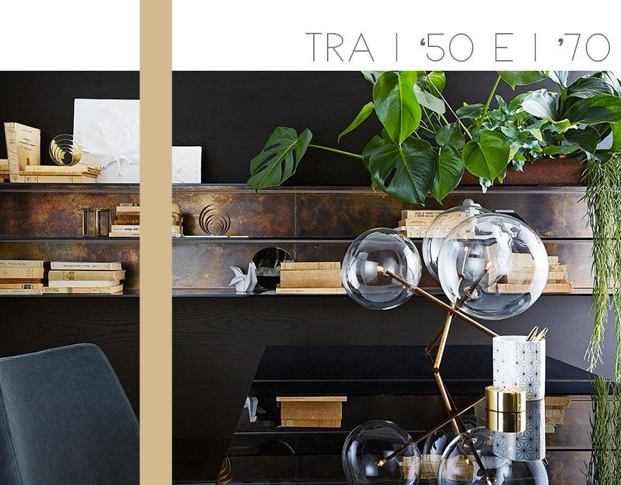 tendenze arredo materiali - ottone e metallo bronzato