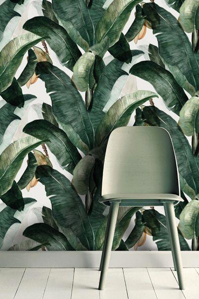 carta a foglie tropicali