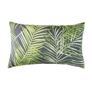 cuscino esterno foglie grigio verdi