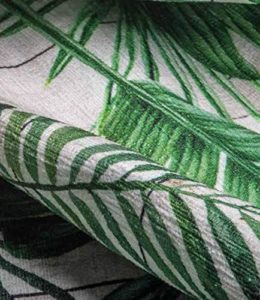 tappeto ciniglia foglie cucina