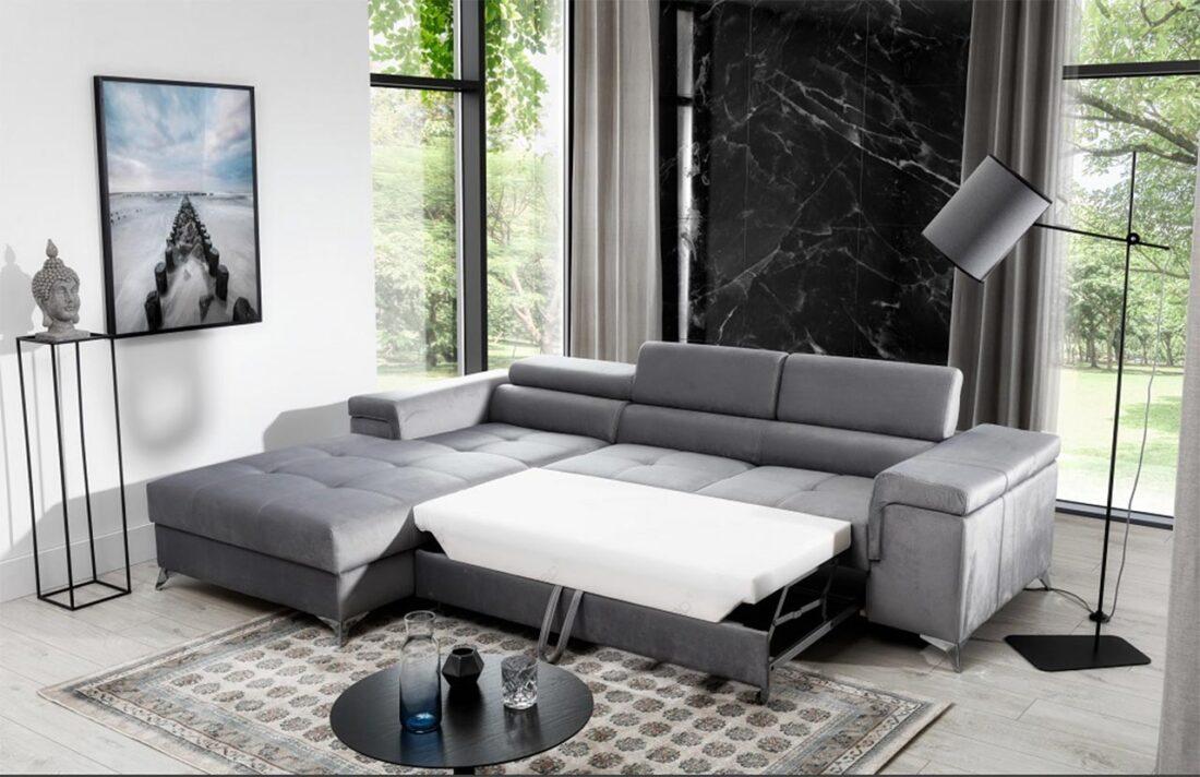divano letto ad angolo forme e dimensioni