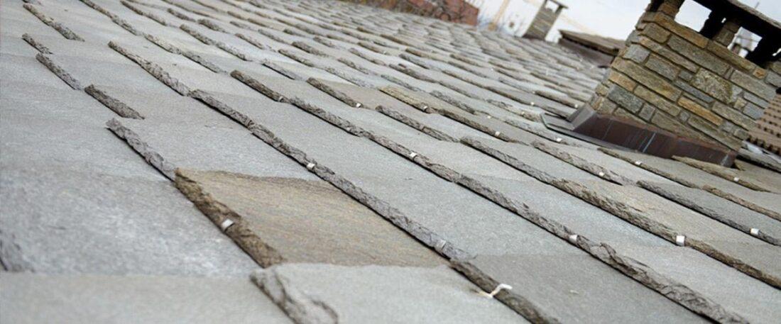 tetto in pietra di Luserna